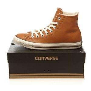 Converse Chuck Taylor All Star Brown Leather Tan